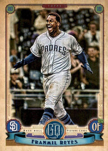 2019 Topps Gypsy Queen Baseball Cards (201-300): #289 Franmil Reyes