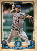 Load image into Gallery viewer, 2019 Topps Gypsy Queen Baseball Cards (201-300): #291 Noah Syndergaard