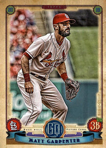2019 Topps Gypsy Queen Baseball Cards (201-300): #292 Matt Carpenter