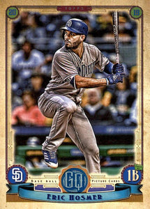 2019 Topps Gypsy Queen Baseball Cards (201-300): #293 Eric Hosmer
