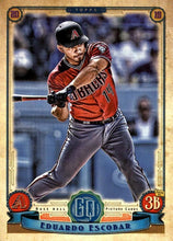 Load image into Gallery viewer, 2019 Topps Gypsy Queen Baseball Cards (201-300): #295 Eduardo Escobar