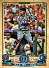 Load image into Gallery viewer, 2019 Topps Gypsy Queen Baseball Cards (201-300): #297 Michael Conforto