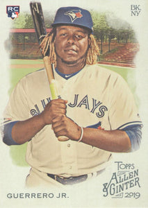 2019 Topps Allen & Ginter BASE Cards (201-400): #278 Vladimir Guerrero Jr. RC