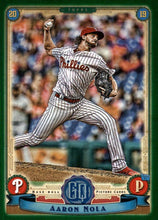 Load image into Gallery viewer, 2019 Topps Gypsy Queen Baseball GREEN Parallels: #20 Aaron Nola