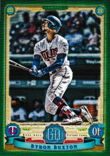 Load image into Gallery viewer, 2019 Topps Gypsy Queen Baseball GREEN Parallels: #78 Byron Buxton