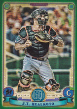 Load image into Gallery viewer, 2019 Topps Gypsy Queen Baseball GREEN Parallels: #95 J.T. Realmuto