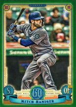 Load image into Gallery viewer, 2019 Topps Gypsy Queen Baseball GREEN Parallels: #143 Mitch Haniger