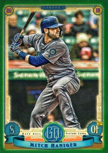 2019 Topps Gypsy Queen Baseball GREEN Parallels: #143 Mitch Haniger