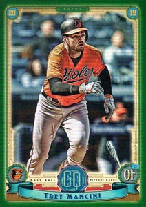 2019 Topps Gypsy Queen Baseball GREEN Parallels: #148 Trey Mancini