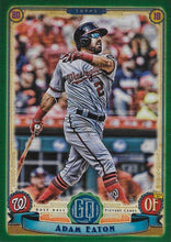 Load image into Gallery viewer, 2019 Topps Gypsy Queen Baseball GREEN Parallels: #179 Adam Eaton