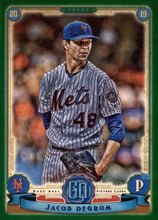 Load image into Gallery viewer, 2019 Topps Gypsy Queen Baseball GREEN Parallels: #200 Jacob deGrom