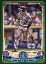 Load image into Gallery viewer, 2019 Topps Gypsy Queen Baseball GREEN Parallels: #213 Nolan Arenado