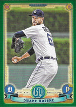 Load image into Gallery viewer, 2019 Topps Gypsy Queen Baseball GREEN Parallels: #246 Shane Greene