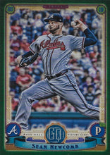 Load image into Gallery viewer, 2019 Topps Gypsy Queen Baseball GREEN Parallels: #250 Sean Newcomb