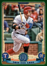 Load image into Gallery viewer, 2019 Topps Gypsy Queen Baseball GREEN Parallels: #258 Shin-Soo Choo