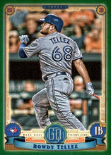 Load image into Gallery viewer, 2019 Topps Gypsy Queen Baseball GREEN Parallels: #276 Rowdy Tellez