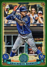 Load image into Gallery viewer, 2019 Topps Gypsy Queen Baseball GREEN Parallels: #296 Adalberto Mondesi
