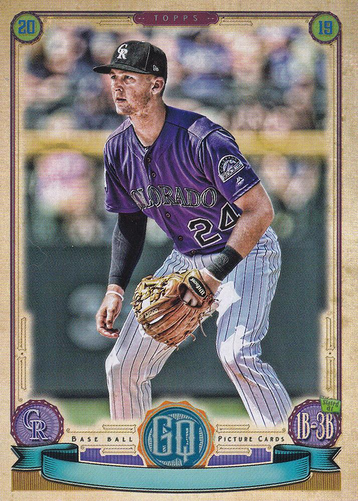 2019 Topps Gypsy Queen Baseball MISSING NAMEPLATE Parallels: #85 Ryan McMahon