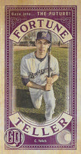 Load image into Gallery viewer, 2019 Topps Gypsy Queen Baseball FORTUNE TELLER MINI Inserts: #FTM-CY Christian Yelich