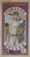 Load image into Gallery viewer, 2019 Topps Gypsy Queen Baseball FORTUNE TELLER MINI Inserts: #FTM-FF Freddie Freeman