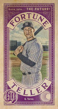 Load image into Gallery viewer, 2019 Topps Gypsy Queen Baseball FORTUNE TELLER MINI Inserts: #FTM-GT Gleyber Torres