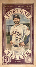 Load image into Gallery viewer, 2019 Topps Gypsy Queen Baseball FORTUNE TELLER MINI Inserts: #FTM-JA Jose Altuve