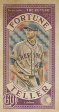 Load image into Gallery viewer, 2019 Topps Gypsy Queen Baseball FORTUNE TELLER MINI Inserts: #FTM-JD Jacob deGrom