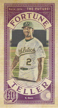 Load image into Gallery viewer, 2019 Topps Gypsy Queen Baseball FORTUNE TELLER MINI Inserts: #FTM-KD Khris Davis