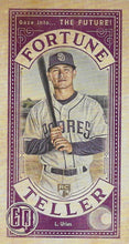 Load image into Gallery viewer, 2019 Topps Gypsy Queen Baseball FORTUNE TELLER MINI Inserts: #FTM-LU Luis Urias RC