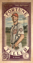 Load image into Gallery viewer, 2019 Topps Gypsy Queen Baseball FORTUNE TELLER MINI Inserts: #FTM-MS Max Scherzer