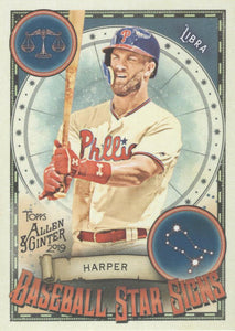 2019 Topps Allen & Ginter BASEBALL STAR SIGNS Cards ~ Pick your card - HouseOfCommons.cards