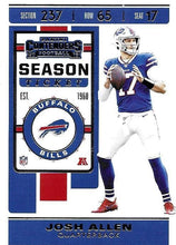 Load image into Gallery viewer, 2019 Panini Contenders Base Veteran Cards #1-100 - Pick Your Cards: #3 Josh Allen