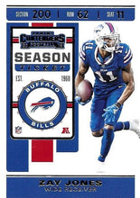 Load image into Gallery viewer, 2019 Panini Contenders Base Veteran Cards #1-100 - Pick Your Cards: #5 Zay Jones