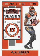 Load image into Gallery viewer, 2019 Panini Contenders Base Veteran Cards #1-100 - Pick Your Cards: #26 A.J. Green