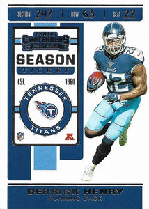 2019 Panini Contenders Base Veteran Cards #1-100 - Pick Your Cards: #28 Derrick Henry