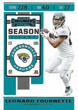 Load image into Gallery viewer, 2019 Panini Contenders Base Veteran Cards #1-100 - Pick Your Cards: #37 Leonard Fournette