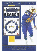 Load image into Gallery viewer, 2019 Panini Contenders Base Veteran Cards #1-100 - Pick Your Cards: #50 Melvin Ingram III