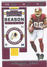 Load image into Gallery viewer, 2019 Panini Contenders Base Veteran Cards #1-100 - Pick Your Cards: #62 Jordan Reed