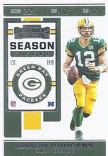 Load image into Gallery viewer, 2019 Panini Contenders Base Veteran Cards #1-100 - Pick Your Cards: #66 Aaron Rodgers
