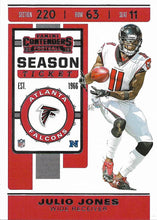 Load image into Gallery viewer, 2019 Panini Contenders Base Veteran Cards #1-100 - Pick Your Cards: #85 Julio Jones