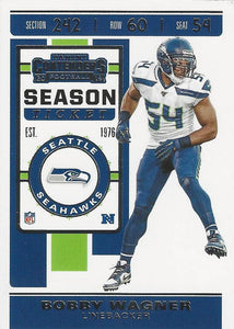 2019 Panini Contenders Base Veteran Cards #1-100 - Pick Your Cards: #91 Bobby Wagner