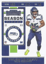 Load image into Gallery viewer, 2019 Panini Contenders Base Veteran Cards #1-100 - Pick Your Cards: #92 Tyler Lockett