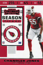 Load image into Gallery viewer, 2019 Panini Contenders Base Veteran Cards #1-100 - Pick Your Cards: #95 Chandler Jones