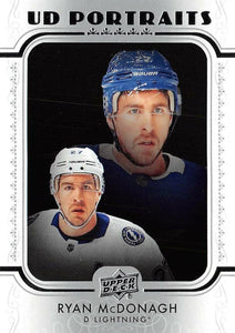 2019-20 Upper Deck Hockey SERIES 1 PORTRAITS Inserts ~ Pick your card