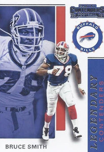 2019 Panini Contenders LEGENDARY CONTENDERS Insert - Pick Your Cards: #LC-BS Bruce Smith  - Buffalo Bills