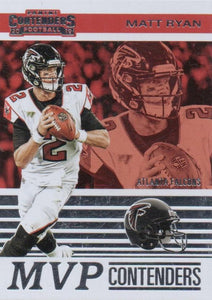 2019 Panini Contenders MVP CONTENDERS Insert - Pick Your Cards: #MVP-MR Matt Ryan  - Atlanta Falcons
