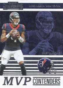 2019 Panini Contenders MVP CONTENDERS Insert - Pick Your Cards: #MVP-DW Deshaun Watson  - Houston Texans