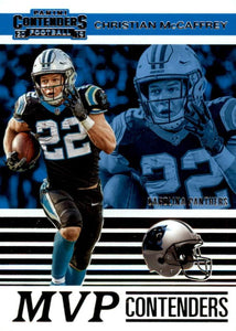 2019 Panini Contenders MVP CONTENDERS Insert - Pick Your Cards: #MVP-CM Christian McCaffrey  - Carolina Panthers