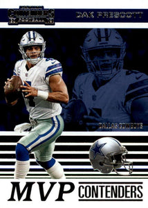 2019 Panini Contenders MVP CONTENDERS Insert - Pick Your Cards: #MVP-DP Dak Prescott  - Dallas Cowboys