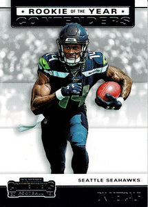 2019 Panini Contenders ROOKIE OF THE YEAR CONTENDERS Insert - Pick Your Cards: #RYA-DM DK Metcalf  - Seattle Seahawks
